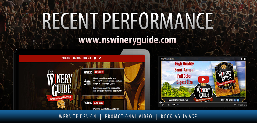 The Winery Guide Website Design