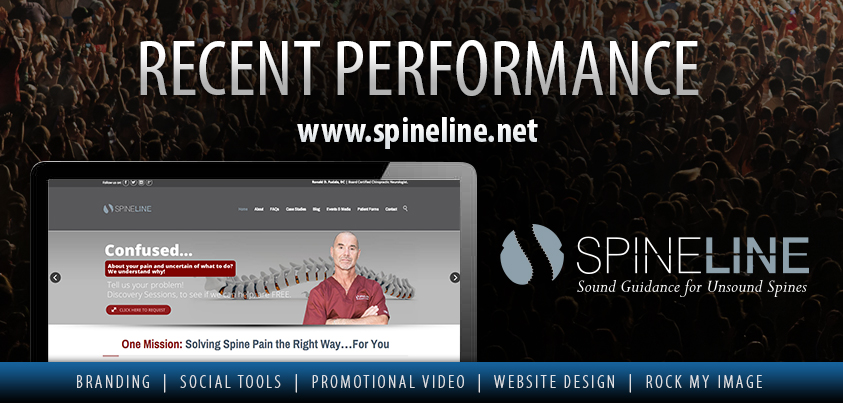 Spineline website design