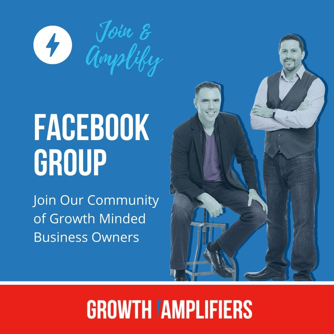 Growth Amplifiers Facebook Group